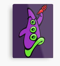 Maniac Mansion - Day of the Tentacle Fan-art Metal Print