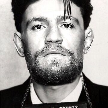 Conor McGregor MUG SHOT by MACTEE