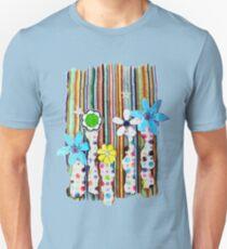 Cut n Paste Flowers Unisex T-Shirt