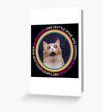 Seattle Space Apps 2015: lolcat design Greeting Card