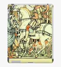 The Sleeping Beauty Picture Book Plate - An Aged Peasant Told of an Enchanted Palace iPad Case/Skin
