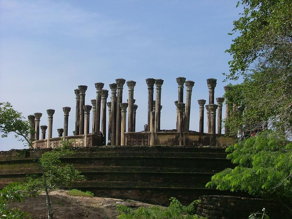 Watadage - Madirigiriya, Sri Lanka by sampath