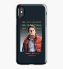 Ready Player One: Wade Watts!  iPhone Case/Skin