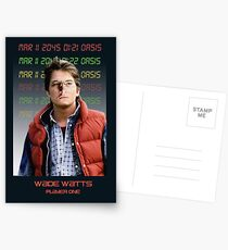 Ready Player One: Wade Watts!  Postcards