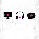 Enchanted Graphic Design Symbols 003 See Hear Speak by SpikyHarold