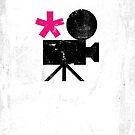 Enchanted Graphic Design Symbols 002 Movie Camera by SpikyHarold