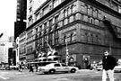 On the streets of New York (USA) by Jean M. Laffitau
