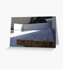 Mies Van Der Rohe Pavillion Greeting Card
