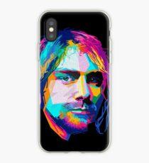 nirvana - pop art - kurt cobain iPhone Case