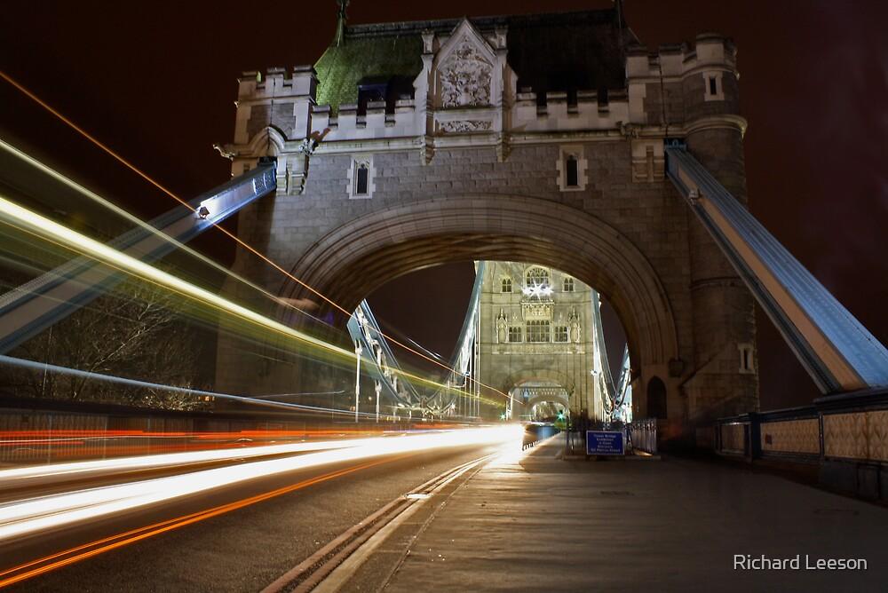 Tower Bridge Entrance by Richard Leeson