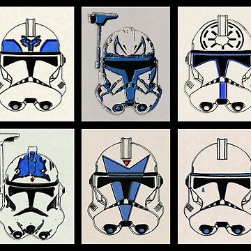 Clone Troopers - Good Soldiers Follow Orders by DorkSide
