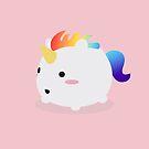 «Kawaii rainbow grascorn» de EuGeniaArt