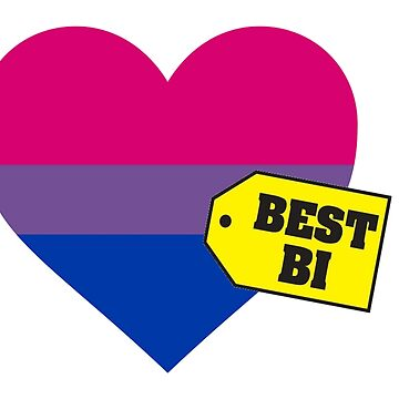 Best Bi Heart Flag by KangarooZach41