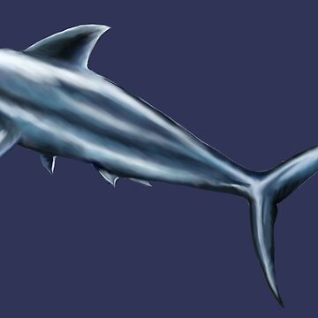 Deep blue shark by ravenblue