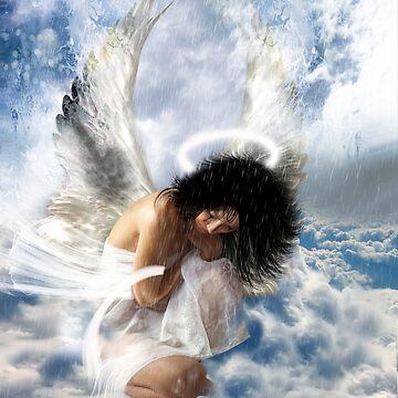 It sometimes rains in heaven... (love hurts) by Muirart
