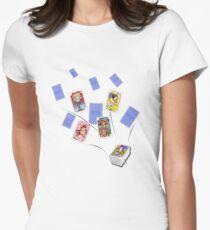 Le Regine del Mazzo Womens Fitted T-Shirt