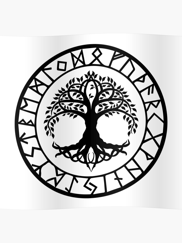 acheter populaire 1ef8b 76663 Norse - Yggdrasil | Poster