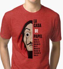 Money Heist Tri-blend T-Shirt