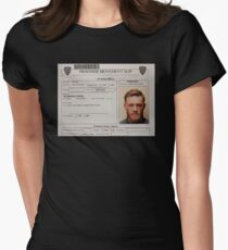 Conor McGregor Mugshot Women's Fitted T-Shirt