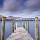 Ashness Jetty, Derwentwater, Lake District, UK by Wendy  McDonnell