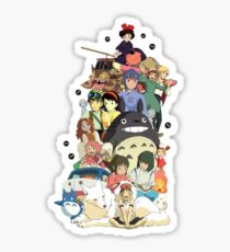 Ghibli movies Sticker