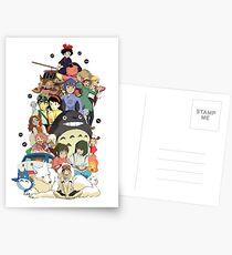 Ghibli-Filme Postkarten