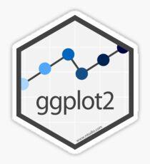 ggplot2 hex logo Sticker