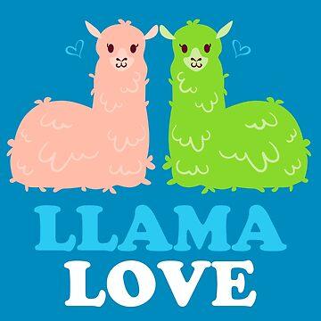 Llama Love by machmigo