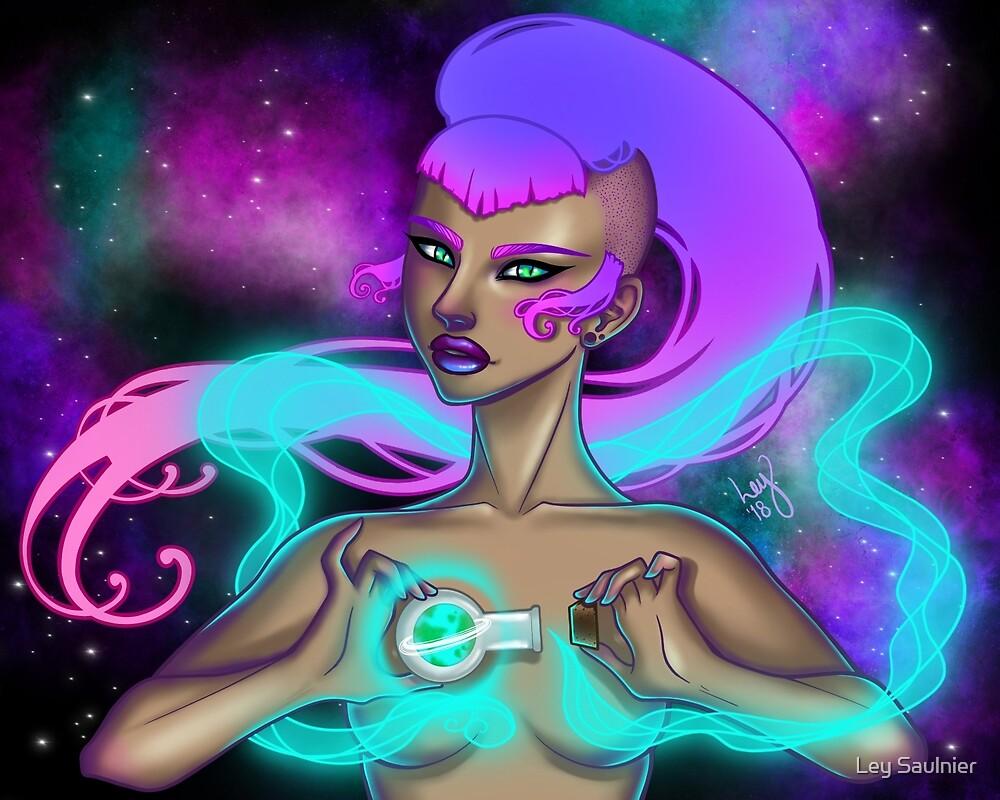 Cosmos by Ley Saulnier