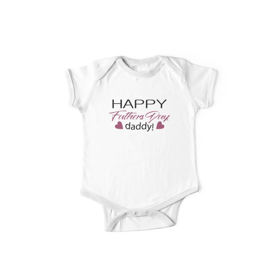 ac005c3f Happy Fathers Day Onesie, Baby Girls Fathers Day Onesie, Girls Fathers Day  Bodysuit, Fathers Day Onesie for Girls, Baby