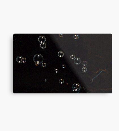 Black Bubble  Metal Print