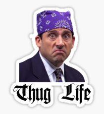 "The Office - Michael ""Prison Mike"" Scott - Thug Life Sticker"