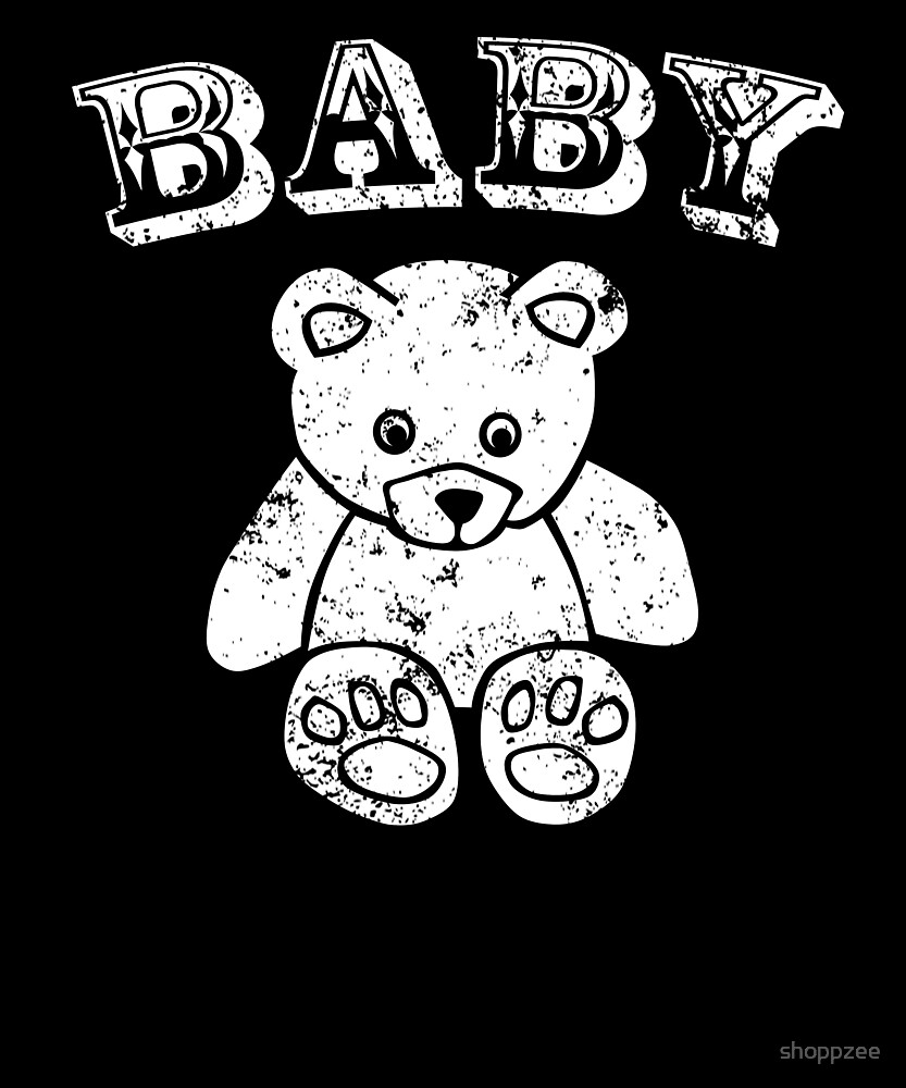 Baby Bear T Shirt For Kids & Youth by shoppzee
