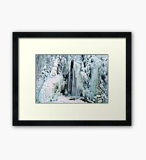 Ice & Water #5 Framed Print