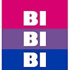 Bi Bi Bi Flag by Claire Faas