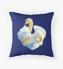 Mute Swan Display Floor Pillow