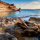 The Boat, sky, water and rocks HDR by Jakov Cordina