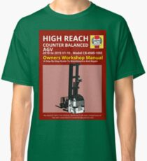 Workshop Manual - High Reach AGV BW Classic T-Shirt