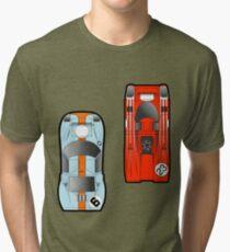 Slot Cars Tri-blend T-Shirt