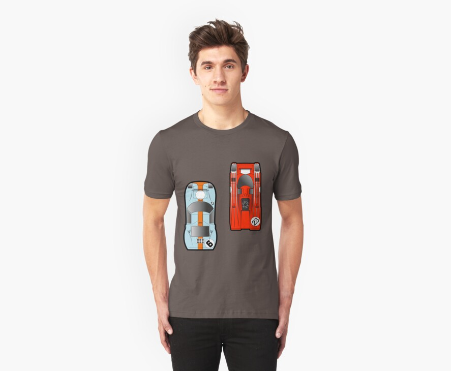Slot Cars by geekchic  tees