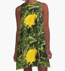 Flower macro A-Line Dress