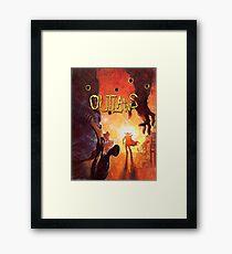 Outlaws (High Contrast) Framed Print