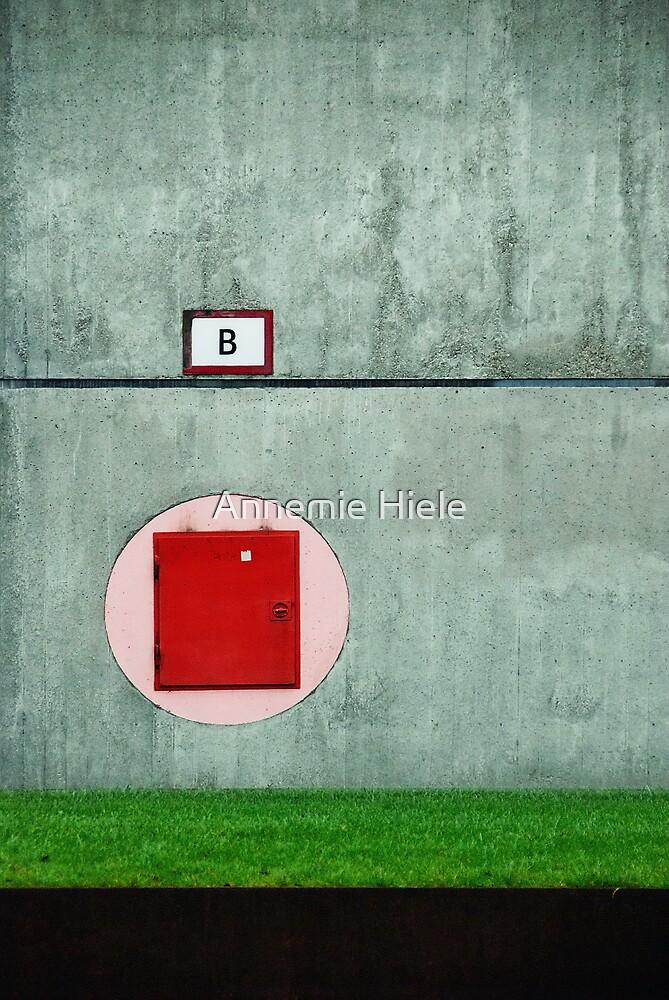   B   by Annemie Hiele