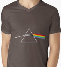 Pink Floyd The Dark Side of The Moon FanArt - C&A Music Men's V-Neck T-Shirt