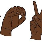 L-O-V-E in ASL Letters: II  by rmcbuckeye