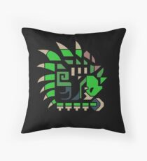 The Queen of the Skies Throw Pillow