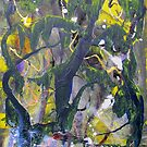 Lewis Carroll forest, original Abstract painting Alice in Wonderland  by Dmitri Matkovsky