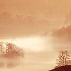 Rydal in the Mist by John Dunbar
