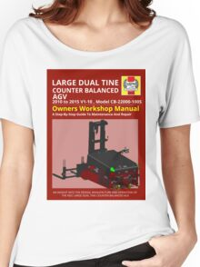 Workshop Manual - Large Dual Tine CB AGV - Colour Women's Relaxed Fit T-Shirt