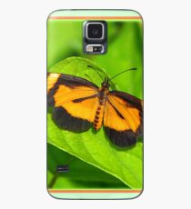 Heloconius Butterfly Case/Skin for Samsung Galaxy